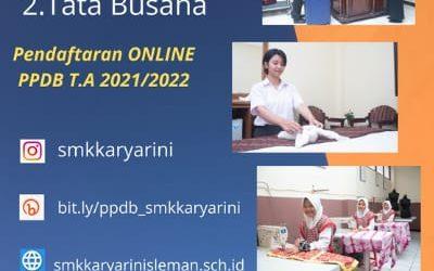 PENERIMAAN PESERTA DIDIK BARU TAHUN PELAJARAN 2020/2021
